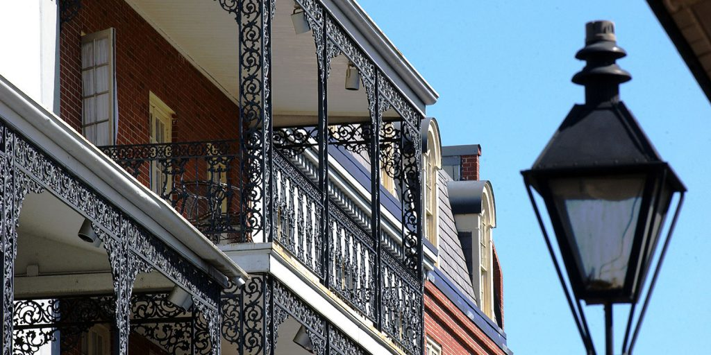 Wrought Iron in the French Quarter