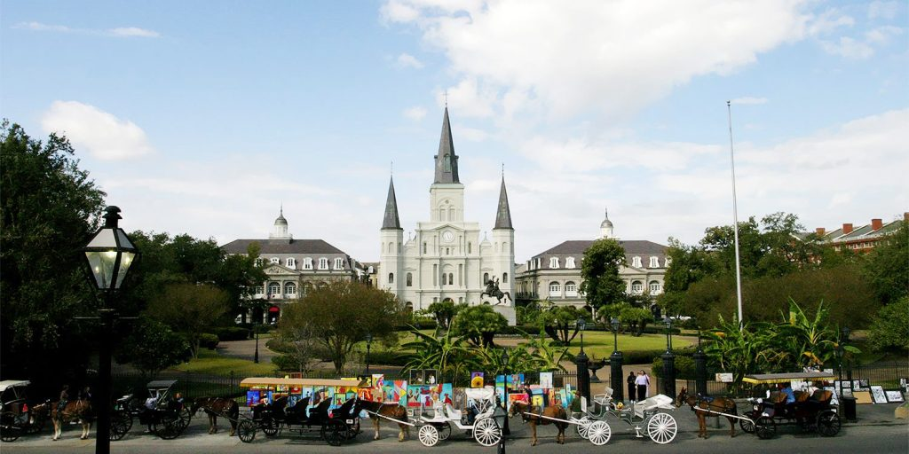 Jackson Square in the French Quarter