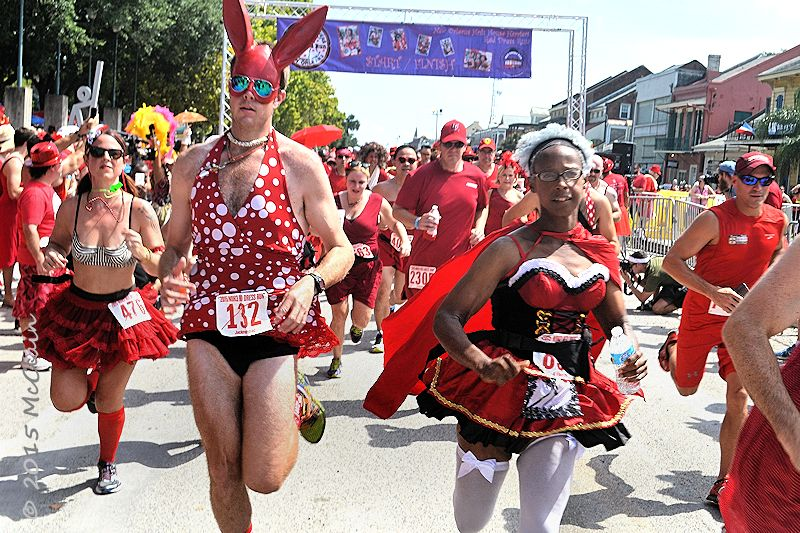Red Dress Run in New Orleans