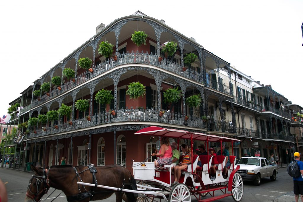 Getting Around the French Quarter